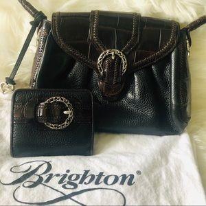 Brighton black/ brown purse handbag and wallet